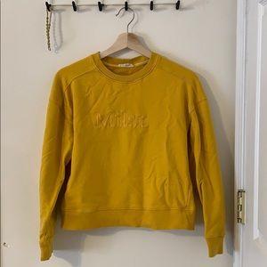 PACSUN la hearts yellow milan sweater